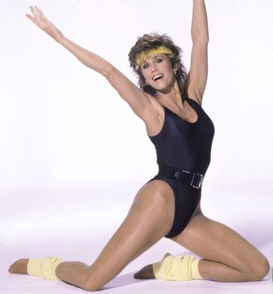 Jane Fonda fitness