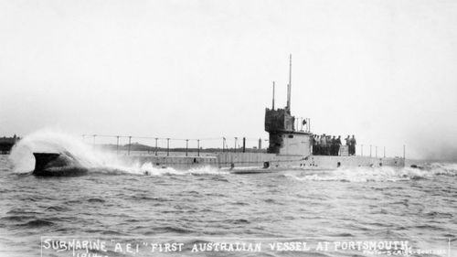 Sonar find off PNG may solve mystery of Australia's first submarine