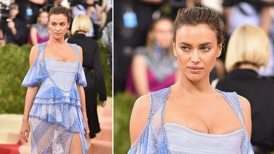 Model Irina Shayk. (AFP)