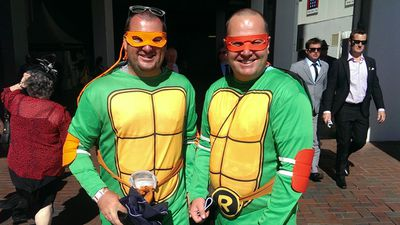 And he's even got his buddy Raphael. (AAP)