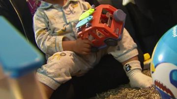 Initially born in Brisbane to a mother on a student visa from India, the little boy was placed into foster care at four days old after his birth parents couldn't care for him.