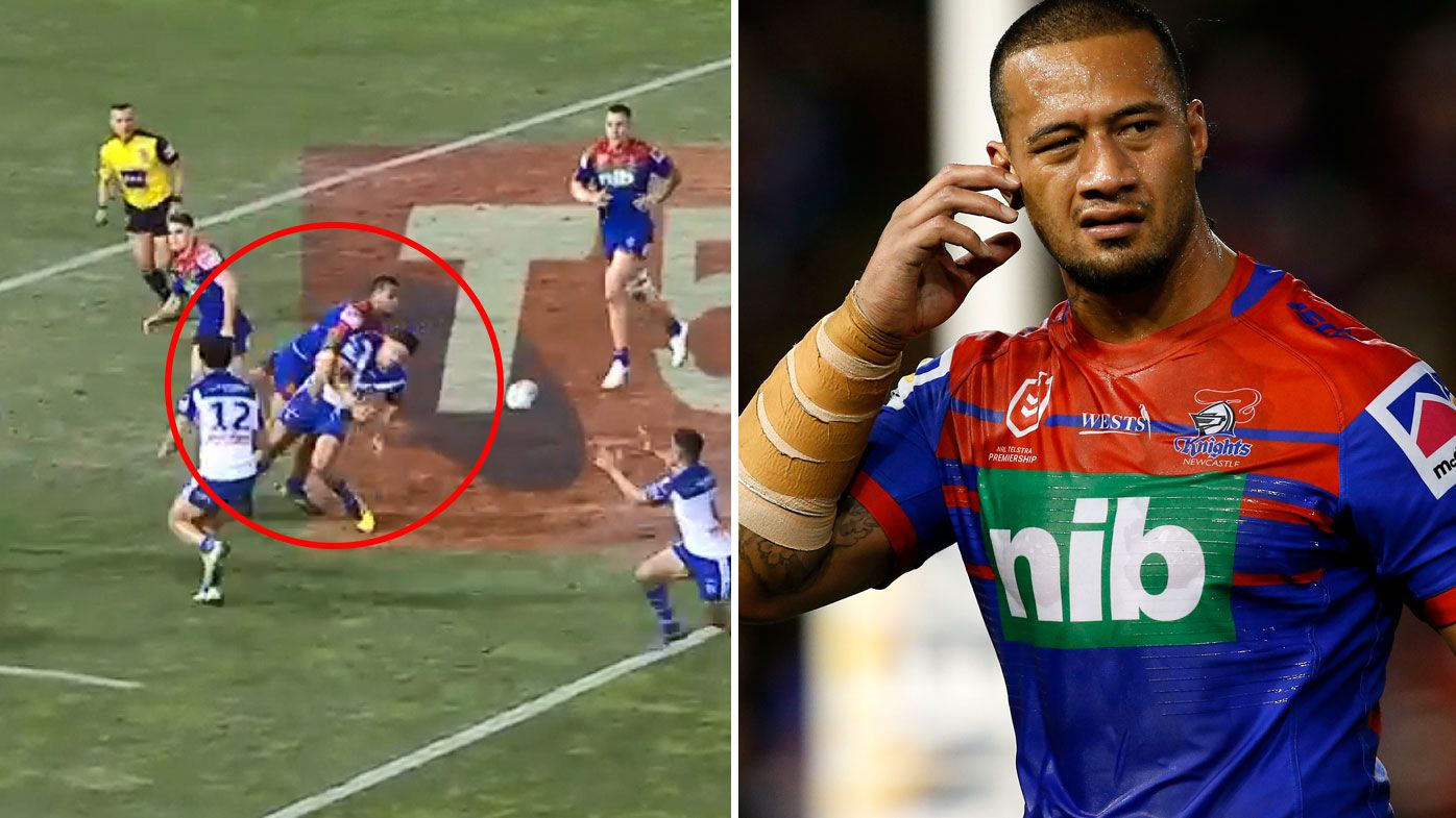 NRL: Legends split over Knights' James Gavet late sin bin