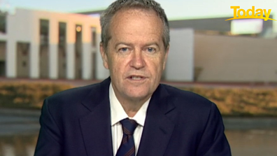 Bill Shorten has said Australia has to 'stand it's ground' against the superpower.