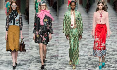 <p>There's no doubt that Gucci's Alessandro Michele has had a galvanising effect on fashion since his appointment as creative director last year. If it's Gucci-brand geek chic and granny styling, it's essential. If it's a romantic, ruffled or pussy bow blouse, we simply must have it. When it comes to dressing today what Alessandro says, goes.</p><p>But what to do with haute taste and hardly any $$$? Here, we translate Gucci's most-wanted blouse looks on a high-street budget.</p>