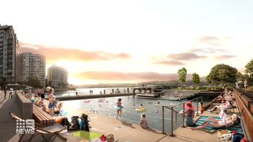 Plans to build new swimming pools in Sydney Harbour