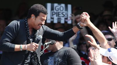 The AFL spent $600,000 on bringing out US singer Lionel Richie to perform at the 2010 Grand Final replay, however AFL fans were split down the middle on whether it was money well spent. (AAP)
