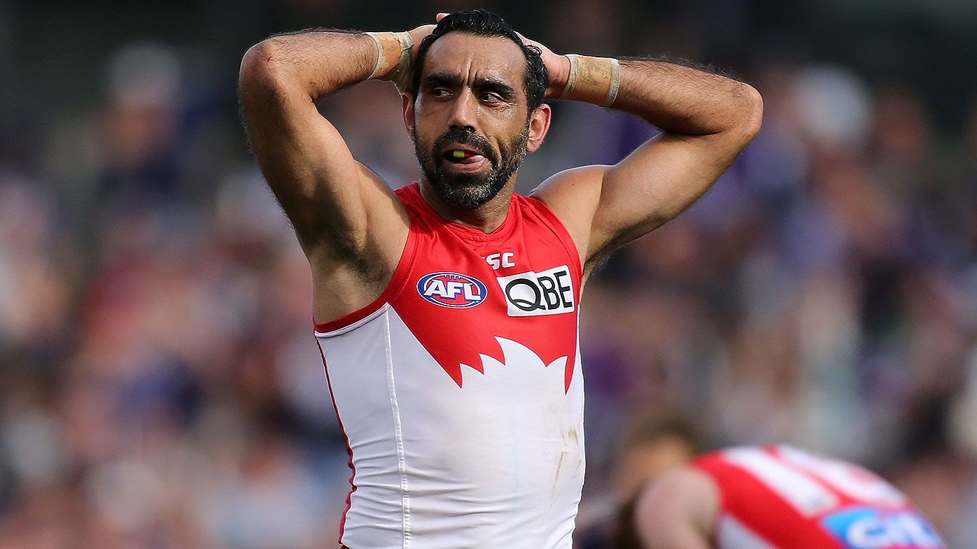 Swans great Adam Goodes rejects AFL Hall of Fame honour