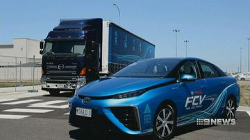 VIDEO: Toyota hopes to prod governments to invest in hydrogen car technology