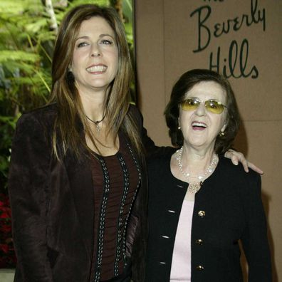 Rita Wilson and her mother Dorothy Wilson in 2002.