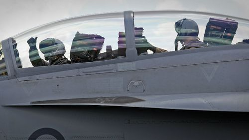 Australian forces are expected to join the USA and France in carrying out air-strikes against ISIL militants. (ADF)