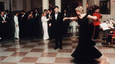 Princess Diana with John Travolta