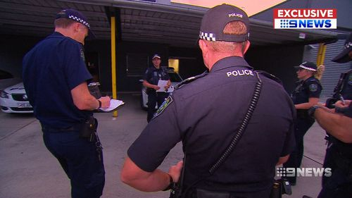 A police operation has begun to crack down on ice in the region. (9NEWS)