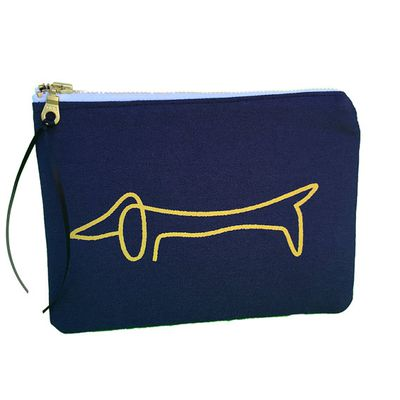 "Peppa Penny Purses daschund pouch, $22.99 at <a href=""https://www.etsy.com/au/listing/218295312/dachshund-pouch-gold-quote-pouch-zipper?ref=market"" target=""_blank"">Etsy</a> <br />"
