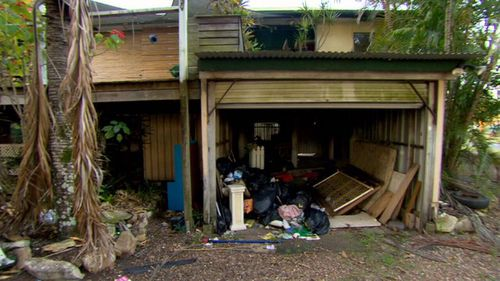 A family's home has been trashed by renters, who left rubbish everywhere and ruined the furniture. Picture: A Current Affair