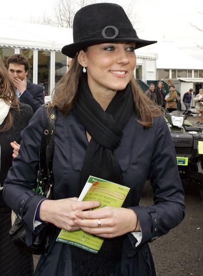 More jaunty headwear, March 2008