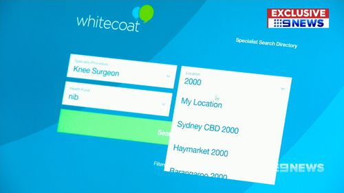 Whitecoat is being touted as a way for patients to get unprecedented access to health cost data.