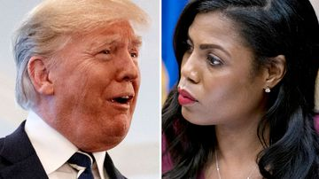 'I know it's not presidential': Trump blasts 'wacky' former aide