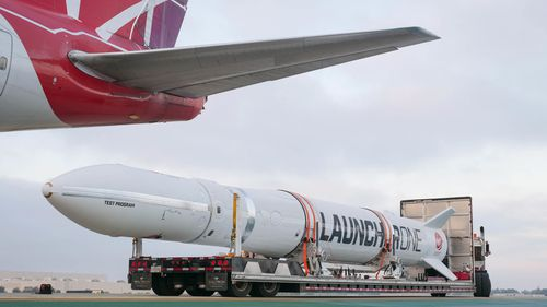 How long the setback will affect Richard Branson's company was not immediately clear. Virgin Orbit has six additional rockets under construction.