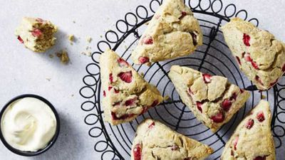 "<a href=""http://kitchen.nine.com.au/2016/12/20/10/12/strawberry-gum-scones"" target=""_top"">Strawberry gum scones</a> recipe"