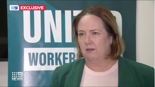 Fiona Scalon from United Voice told 9News that they heard 160 people were still waiting for ambulances last night.