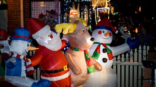 Impressive Christmas displays at home needn't cost a fortune. (File image)