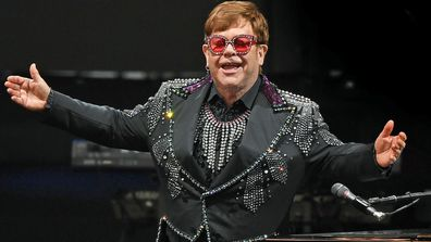 English musician Elton John performs during A Day On The Green music festival at Mt Duneed Estate in Geelong, Saturday, December 7, 2019