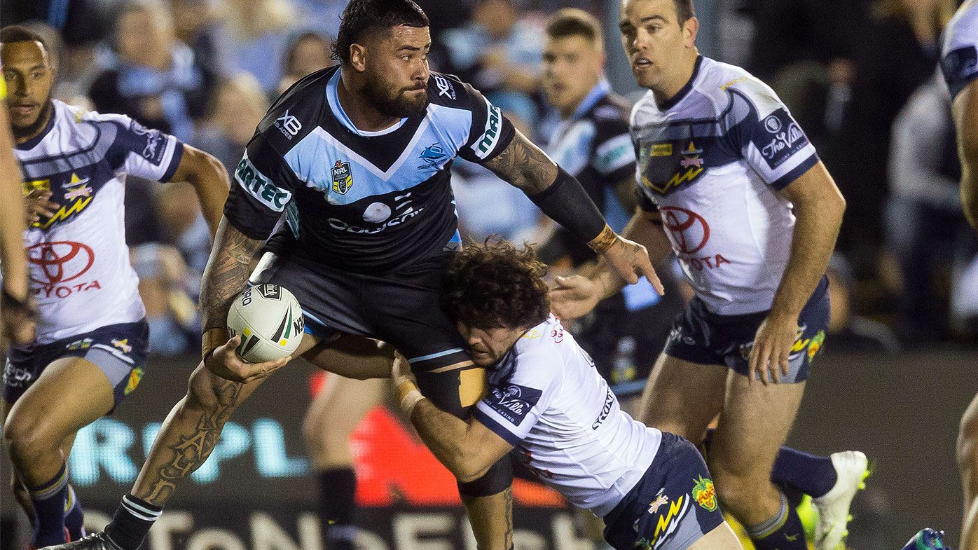 Fifita sends message in Sharks win