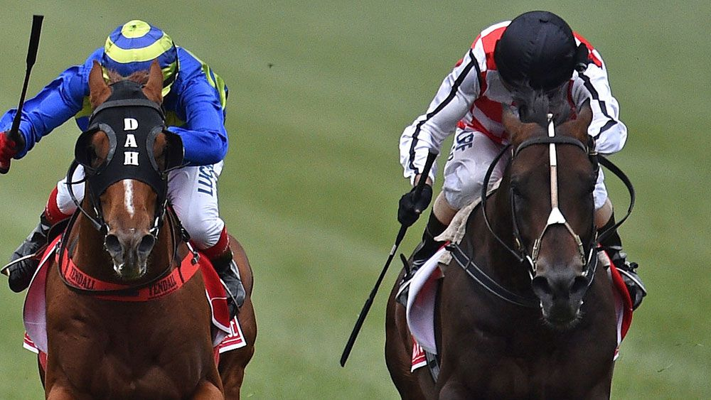Wild celebrations after Awesome G1 victory
