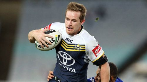 North Queensland Cowboys five-eighth Michael Morgan. (AAP)