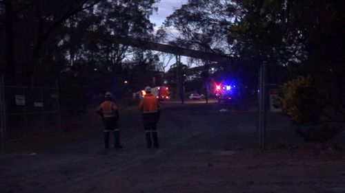 The rescue started at 3pm and carried on into the night. (9NEWS)