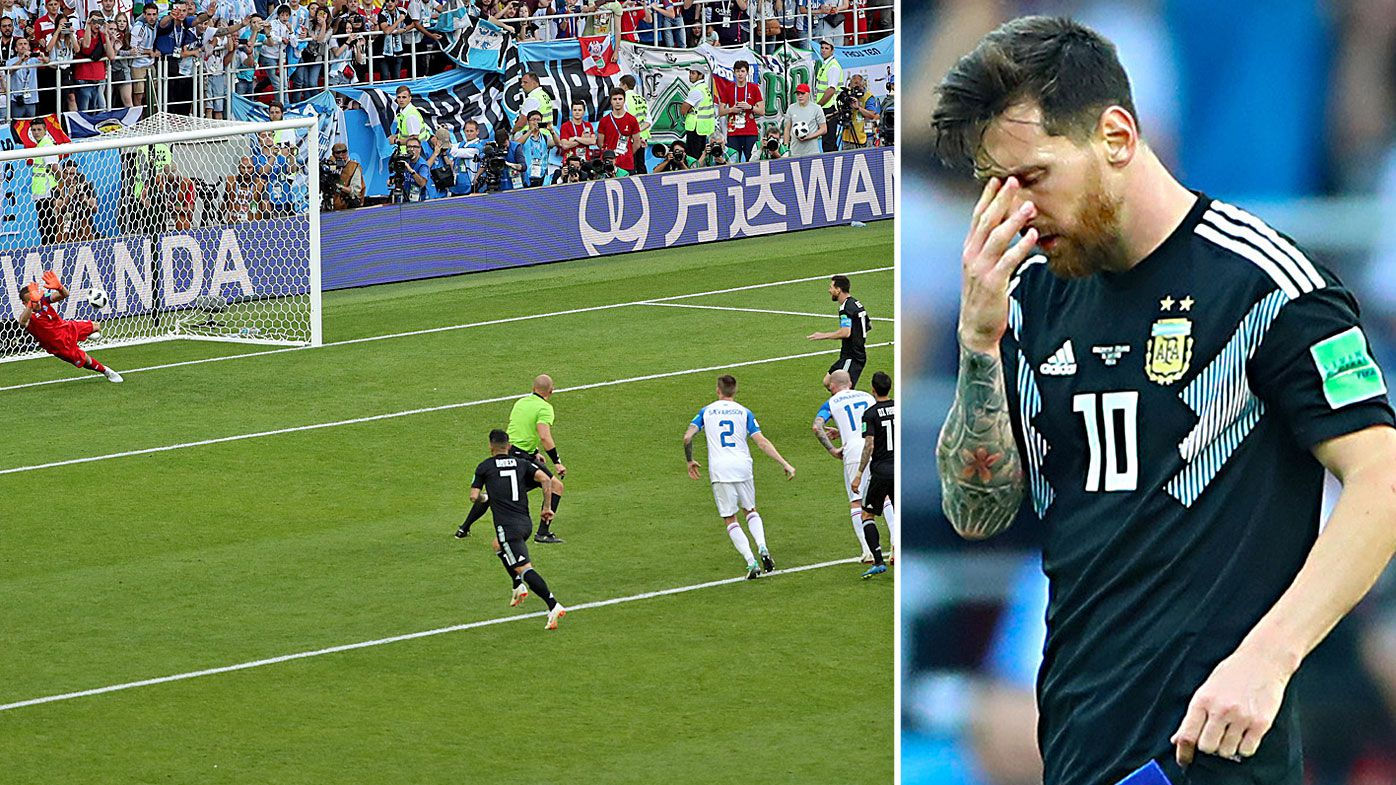 Image result for Lionel Messi missed penalty
