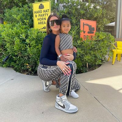 Khloé Kardashian and daughter True Thompson