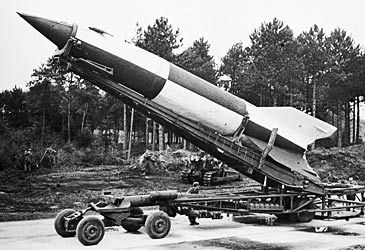 Daily Quiz: Which nation developed the V-2 ballistic missile?