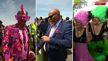 The weird, the wonderful and our longest goatee on show for Cup Day