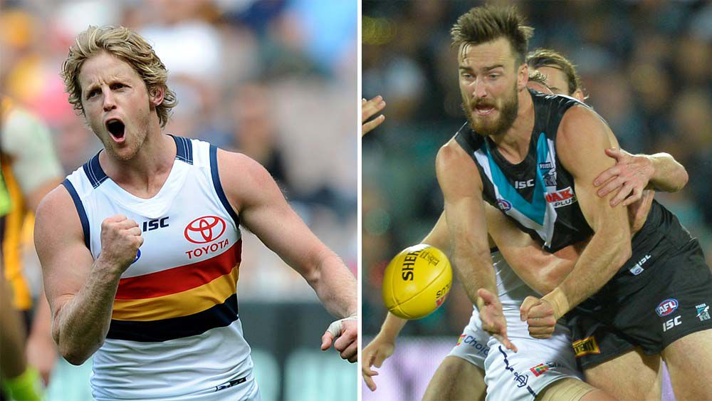 Port Adelaide and the Crows will clash in the Showdown
