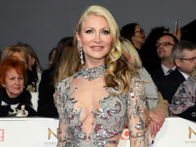 Caprice Bourret at the National Television Awards