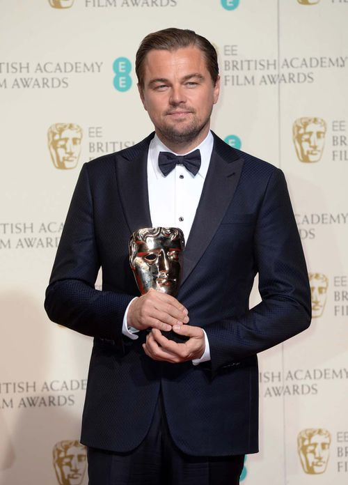 DiCaprio received a BAFTA's award for best actor this year. (Getty)