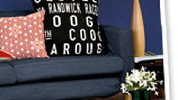 Make a statement cushion - easily!