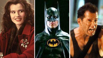 Geena Davis, Michael Keaton, Bruce Willis
