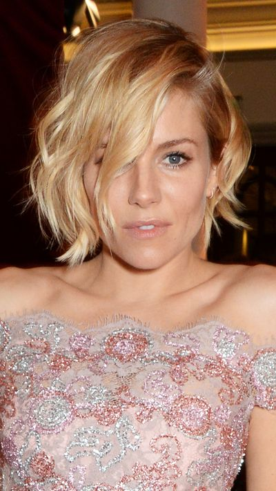 <strong>The lob</strong><br>Sienna Miller became instrumental in last year's lob trend, embracing the touselled short locks.