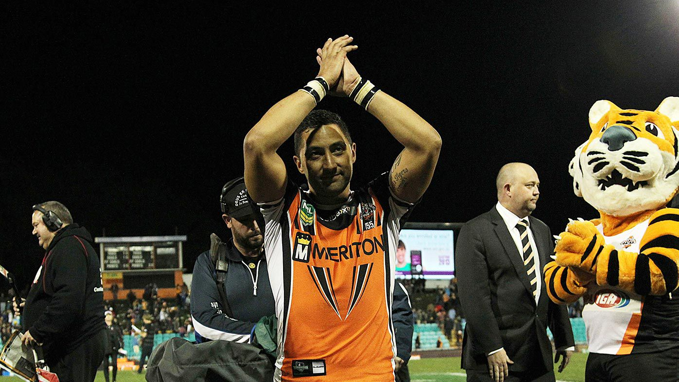 Benji Marshall leaves Leichhardt for the last time as a Tiger –or so we thought