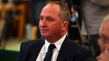 Former deputy prime minister Barnaby Joyce has reserved the right to cross the floor on the National Energy Guarantee vote.