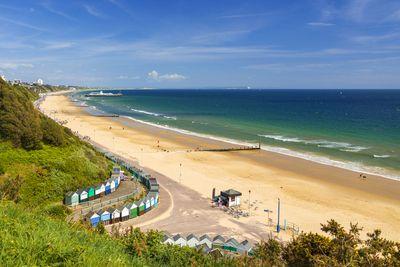 Sandbanks beach in Poole