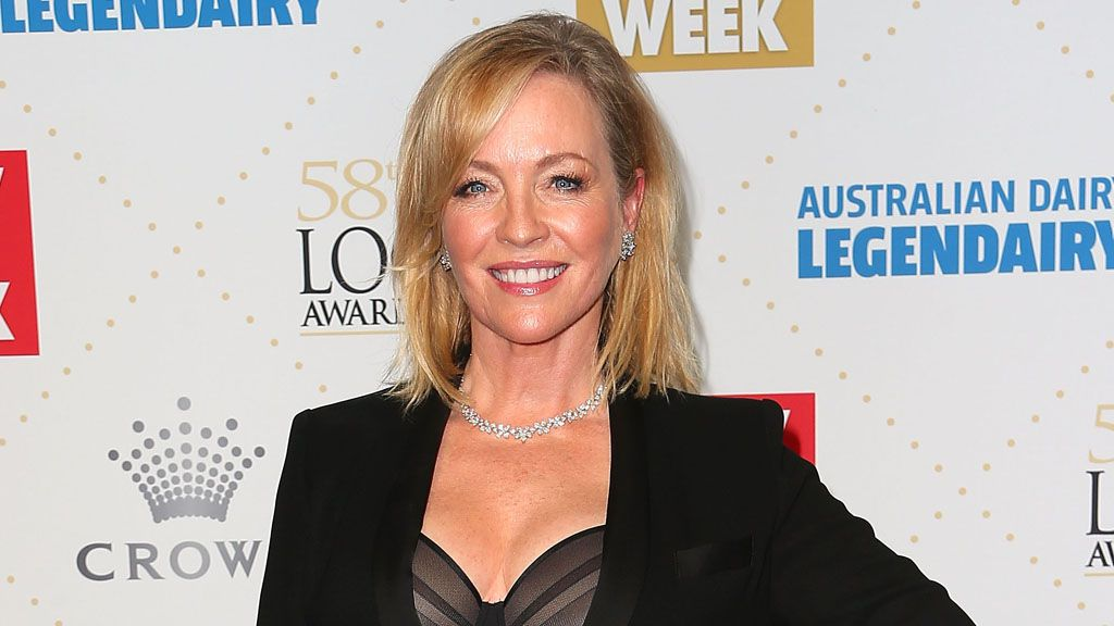 Rebecca Gibney appears on the cover of WHO with no makeup