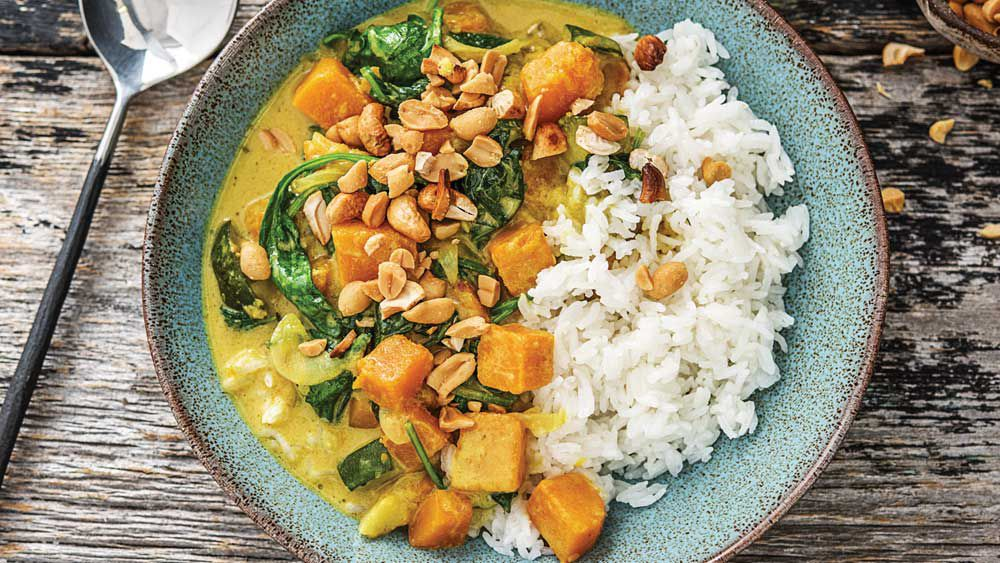 Thai and coconut curry