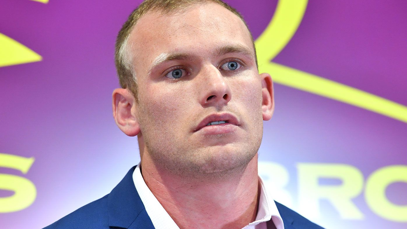 Matt Lodge faces media