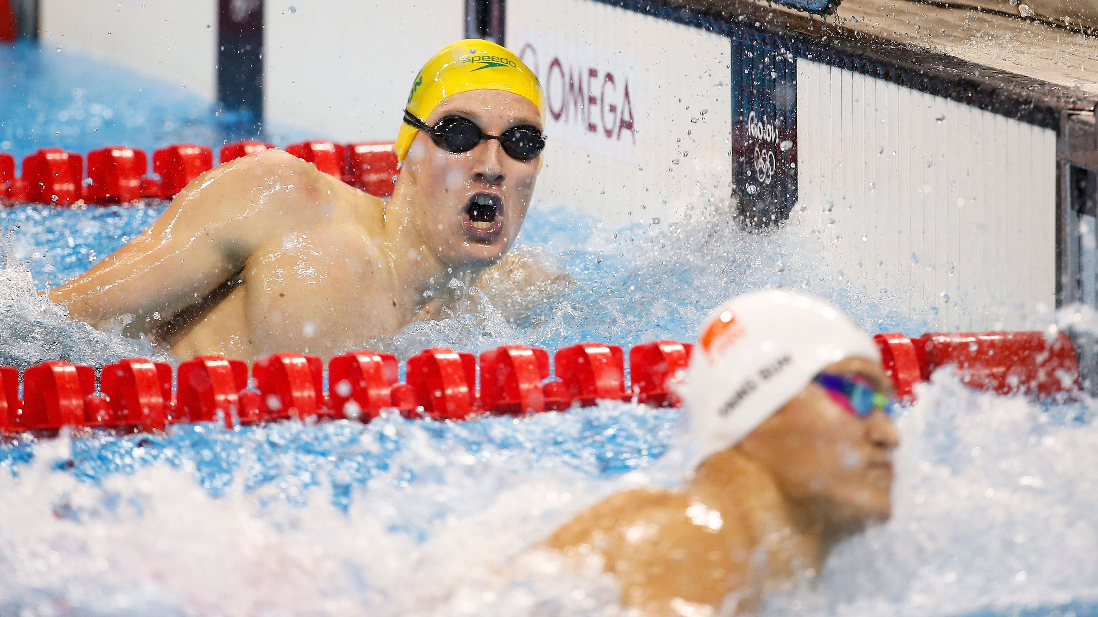 Mack Horton separated from Sun Yang in Korea as tensions rise