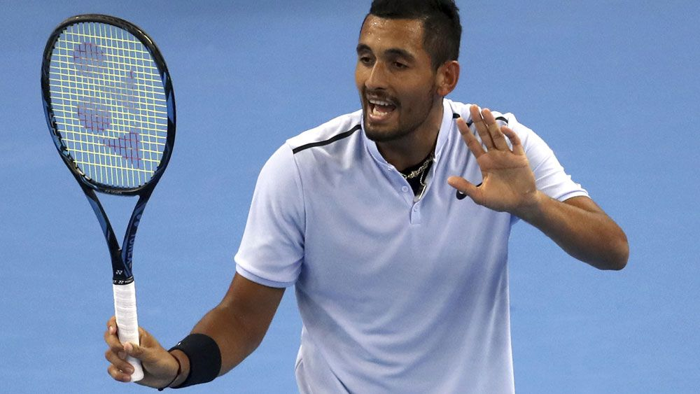 Australia tennis star Nick Kyrgios finds purpose in helping children
