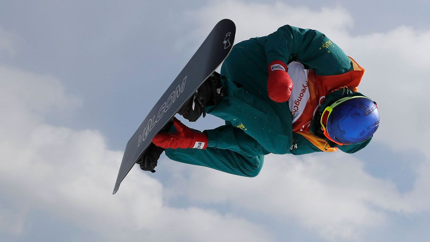 Scotty James into snowboard halfpipe final