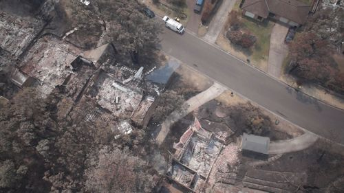 Emergency services and locals in Yellowrock in NSW which was devastated by bushfires, have been honoured.